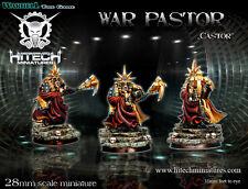 Hitech Miniatures - 28SF019 War Pastor Castor 28mm Warhammer 40k 40000