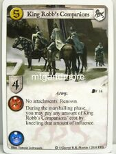 A Game of Thrones LCG - 1x King Robb's Companions #016 - Ice and Fire Draft Pack