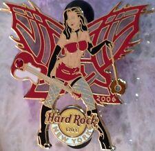 Hard Rock Cafe NEW YORK 2006 Birthstone Fairy Girl Series PIN #2 JULY HRC #34284