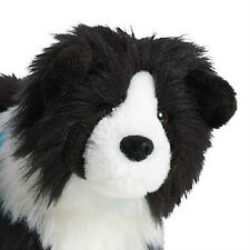 American Girl Saige's DOG Rembrandt for Saige Doll BLACK white Collie WITHOUTbox