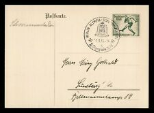 DR WHO 1936 GERMANY BERLIN POSTAL CARD C186707