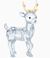 New in Box Swarovski Santa's Reindeer Christmas #5400072