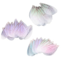 30Pcs Dragonfly Wing Earring Pendant Charm for Jewelry Finding DIY Connector