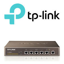 TP-LINK - Professional Load Balance Router Up to 4 WAN or LAN Ports - TL-R480T+