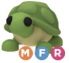 Roblox Adopt Me Mega Neon Fly Ride Turtle MFR (Read Description)