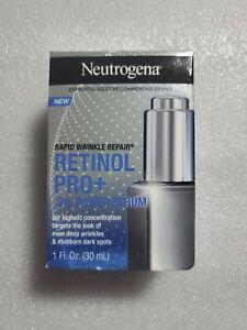 Neutrogena Rapid Wrinkle Repair Retinol Pro+ 5% Power Serum 1 Fl Oz. NIB