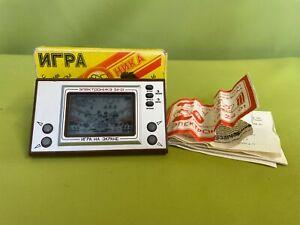 seltenes russisches LCD Spiel Igra Na Ekrane Elektronika 24-01 funktionsfähig