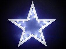 20 LED blanco Estrellas de adviento ø 25 Estrella de navidad