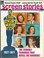 Susan Hayward Clark Gable Bette Davis Spencer Tracy SCREEN STORIES magazine 1971