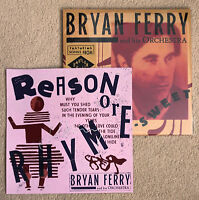 BRYAN FERRY & HIS ORCHESTRA * BITTER-SWEET * VINYL w/ LIMITED SIGNED PRINT * BN!