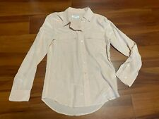 EQUIPMENT Femme Pink Long Sleeve Silk Blouse Top Size XS/TP