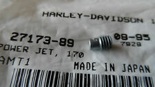 NEW Harley-Davidson Screamin Eagle Hi Flo Carb Power Jet size 170 27173-89