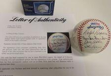 Brooklyn LA Dodgers HOF Legends Signed MLB Baseball PSA Snider Erskine Wills