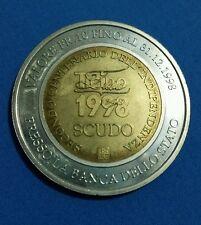 MONETA REPUBBLICA E CANTONE TICINO SVIZZERA 1998 VALORE FR 10 SCUDO 200 ANNI