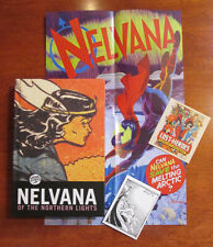 NELVANA of the Northern Lights 2014 Kickstarter Edition Hardcover Plus Extras