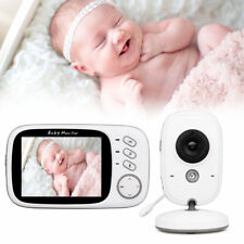 "3.2"" Digital Wireless temperature Baby Monitor Night Vision 2 Way Audio Camera"
