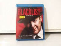 Cofanetto 6 dischi Blu ray - James Spider - The Blacklist - Stagione 2 completa