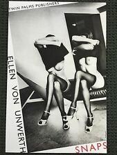 """ELLEN VON UNWERTH """"SNAPS"""" ART Poster (31.5 x 21 in) 1994"""