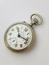 Rosskopf patent CMG military style pocket watch  roskopf