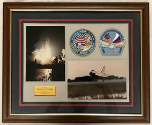 NASA Astronaut Readdy Space Shuttle Atlantis STS-79 NAMED Plaque Patches Photo