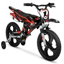 "Hyper 16"" Mag Wheels Motobike Bmx Motorcycle Style Mag, Kids Bike, Black/Red"