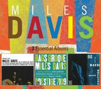 MILES DAVIS - 3 ESSENTIAL ALBUMS  3 CD NEW!