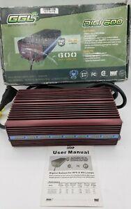 Digital Ballast Global Greenhouse Lighting GGL600W240V HPS MH 600W 240V Input