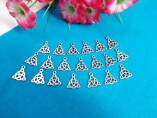 *** CELTIC KNOT CHARMS - SILVER x 20 - JEWELLERY - SCRAP BOOKING # 3 ***