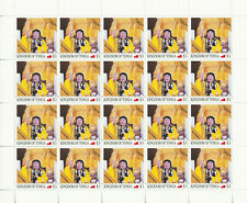 More details for tonga 2021 mnh dorje chang buddha iii stamps pope of buddhism religion 20v m/s