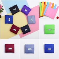 Eco Friendly Reusable Foldable Shopping Bags Storage Handbag Tote Folding Pouch*