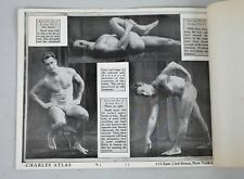 Complete Charles Atlas Mail Order Physique System Fitness Lessons 1-12 Plus