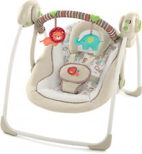 Compact Bedside Baby Swing Easy Fold Musical Rest Set For Infant New Born New