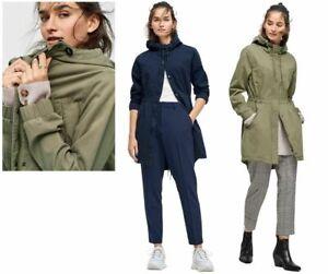 £49 WOMENS Ellos Ava Parka Casual Style Jacket Coat khaki or Navy 8 10 12 14