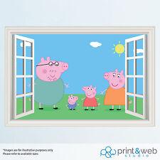 Children's Peppa Pig boy Girls Wall Decals & Stickers