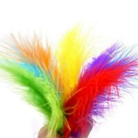 200X Ostrich Feathers Plume Craft Centerpiece Wedding DIY Card Decor 12-15cm