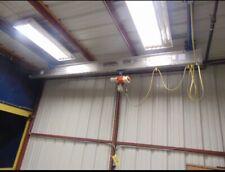 Gorbel 14 Ton Ceiling Mounted Bridge Crane With Harrington Hoist 19x13 115v