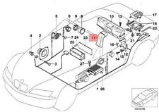 Genuine BMW Z3 Roadster Subwoofer Box Top-Hifi System Pipe OEM 65108401040
