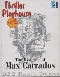 THE MYSTERIES OF MAX CARRADOS, Ernest Bramah, (Thriller Playhouse) 2 Cassettes