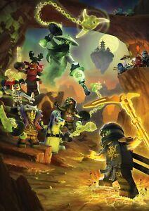 NINJAGO lego 23 Movie Poster Canvas Picture Art Print Premium Quality