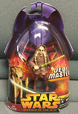 STAR WARS EPISODE 3 KIT FISTO JEDI MASTER #22 REVENGE OF THE SITH
