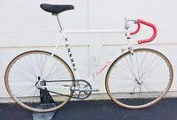 Zeus La Casera Track Bike Ciclocentro Vintage Steel 3T Stem / Saddle