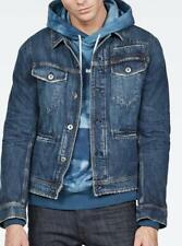 G-Star Raw Men D-Staq Rftp Water 3D Jacket Medium Blue Size S NEW $410 BLM-C