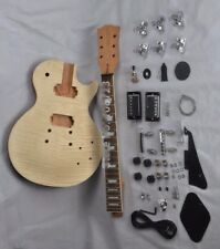 New DIY LP Guitars Mahogany Body Unfinished Electric Guitar Kit