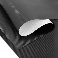 Pellicola Adhesivo moto carbonio 3D nero opaco 75x100cm Motea