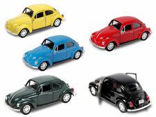 VW Beetle Modellauto 12 cm Käfer Modell 1:34 Bug Auto m. Rückzug Welly 60er 70er