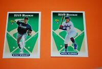 2019 Topps Archives 321-330 Insert SP 1993 Topps Rookies Pete Alonso Guerrero Jr