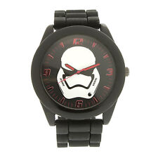 Disney Star Wars Accutime Storm Trooper Watch Silicone Strap w Collectible Tin