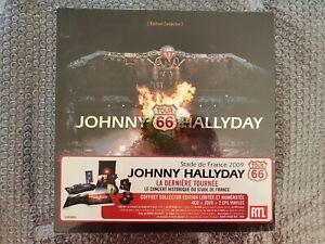 JOHNNY HALLYDAY COFFRET TOUR 66 INTÉGRALE COLLECTOR 4CD+2DVD+2EP NEUF