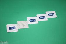 5 zipnfc TOPAZIO anti-metal 512 alta capacità NFC TAG ADESIVI ANDROID WINDOWS