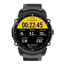 Smartwatch FS08 impermeabile IP68 bluetooth GPS Altimetro cardio Android iOS ner